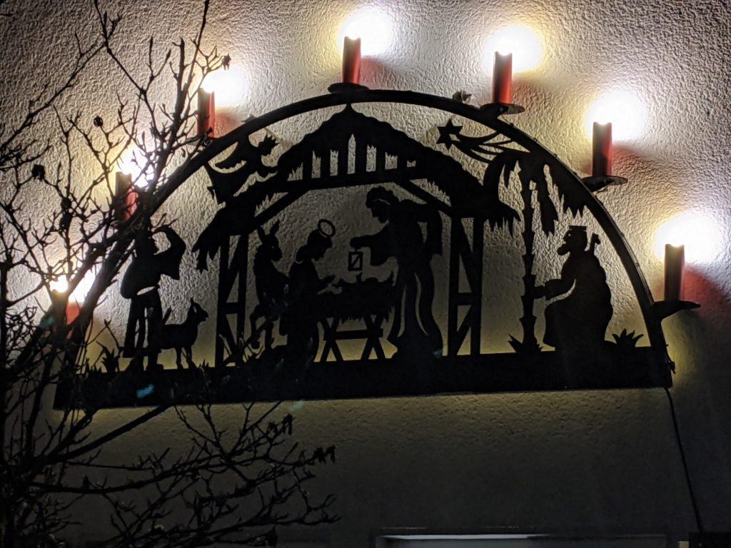 Keine Döörper Weihnacht – aber Weihnachtsbeleuchtung
