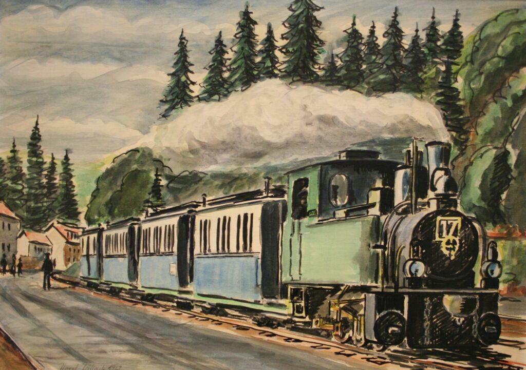 Lichtbildervortrag 150 Jahre Bröltalbahn